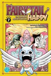 Fairy Tail - la grande aventure de Happy T.7 - Couverture - Format classique