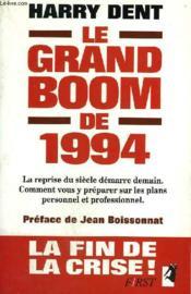 Le Grand Boom De 1994 - Couverture - Format classique