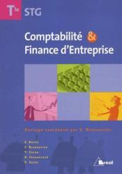 Compta & finance d'entreprise ; terminale STG - Couverture - Format classique