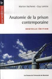 Anatomie de la prison contemporaine - Intérieur - Format classique