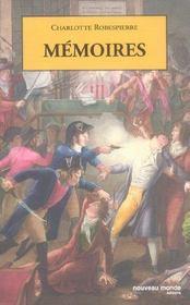Mémoires - Intérieur - Format classique