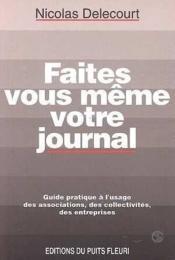 Faites Vous Meme Votre Journal - Couverture - Format classique