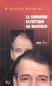 La Chirurgie Esthetique Au Masculin - Intérieur - Format classique