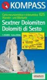 Sextner Dolomiten ; Dolomiti di Sesto - Couverture - Format classique