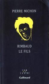 Rimbaud le fils - Couverture - Format classique