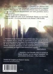 Amortels - 4ème de couverture - Format classique