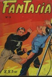 Fantasia N°9.Black Boy Dans L'Afaire Des Bases U.S. En Italie - Couverture - Format classique