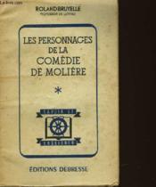 Les Personnages De La Comedie De Moliere - Couverture - Format classique