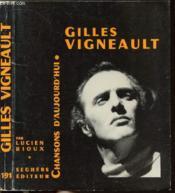 Gilles Vigneault - Collection Chansons D'Aujourd'Hui N°191 - Couverture - Format classique