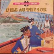 Livre disque 33t microsillon // L'île au trésor - Couverture - Format classique