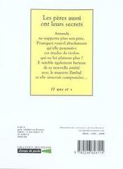 Les peres aussi ont leurs secrets - 4ème de couverture - Format classique