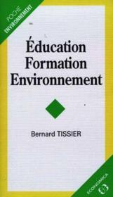 Education, formation, environnement - Couverture - Format classique