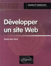 Développer un site web - Intérieur - Format classique
