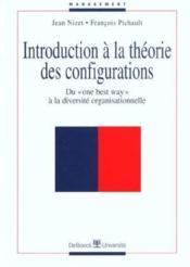 Introduction à la théorie des configurations - Couverture - Format classique