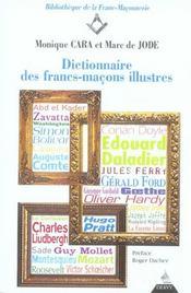 Dictionnaire des francs-macons illustres - Intérieur - Format classique