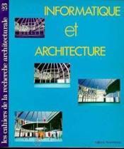 Cahiers recherche archi.n.23 - Couverture - Format classique
