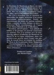 La couronne des esclaves t.2 - 4ème de couverture - Format classique