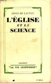L Eglise Et La Science. - Couverture - Format classique