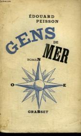Gens De Mer. - Couverture - Format classique