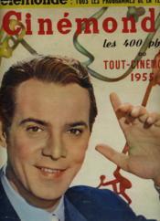 CINEMONDE - 22e ANNEE - N° 1065 - LES 400 PHOTOS DU TOUT-CINEMA 1955 - Couverture - Format classique
