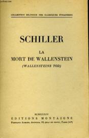 La Mort De Wallenstein - Wallensteins Tod - Couverture - Format classique