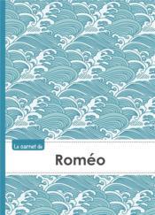 Carnet Romeo Lignes,96p,A5 Vaguejaponaise - Couverture - Format classique