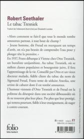 Le tabac Tresniek - 4ème de couverture - Format classique