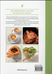 La cuisine du marché - 4ème de couverture - Format classique
