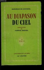 Au Diapason Du Ciel - Couverture - Format classique