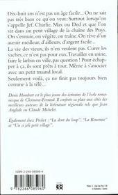 L'Arbre A Poule - 4ème de couverture - Format classique