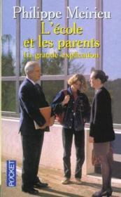L'Ecole Et Les Parents - Couverture - Format classique