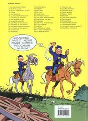 Les tuniques bleues t.33 ; Grumbler et fils - 4ème de couverture - Format classique
