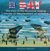 D day - histoire du debarquement de normandie - Couverture - Format classique