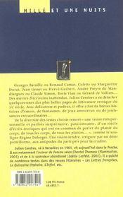 Affinites licencieuses - 4ème de couverture - Format classique