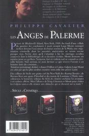 Le siècle des chimères t.3 ; les anges de Palerme - 4ème de couverture - Format classique