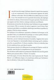 Carnet d'alchimie - 4ème de couverture - Format classique