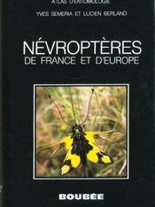 Atlas Des Nevroptères De France Et D'Europe - Intérieur - Format classique