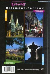 Autour De Clermont Ferrand - Riom Issoire Balades Et Rando A Pied - 4ème de couverture - Format classique