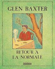Retour A La Normale - Couverture - Format classique