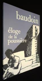 Eloge De La Poussiere - Couverture - Format classique