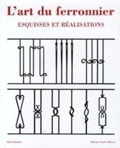 Art du ferronnier - Couverture - Format classique
