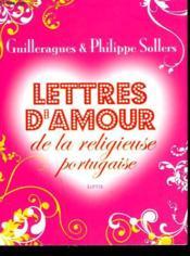 Lettres d'amour de la religieuse portugaise - Couverture - Format classique