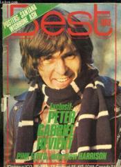 Best N° 103 Fevrier 1977. Sommaire: Peter Gabriel Revient, Pink Floyd Interview Harrison... - Couverture - Format classique
