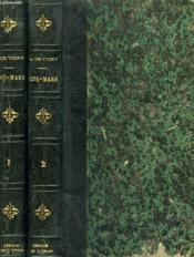 Cinq-Mars Ou Une Conjuration Sous Louis Xiii. Tomes I Et Ii. - Couverture - Format classique