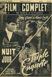 2 Films Complets N°20 - Nuit Et Jour - Triple Enquete - Couverture - Format classique