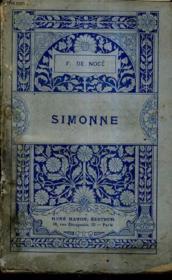 Simonne. - Couverture - Format classique