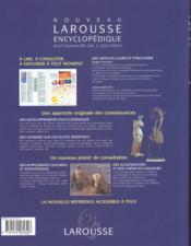 Nouveau Larousse Encyclopedique - 4ème de couverture - Format classique