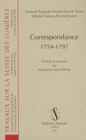 Correspondance 1754-1797 - Couverture - Format classique