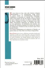 Désorientale - 4ème de couverture - Format classique