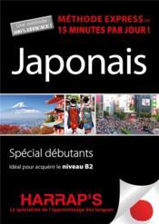Méthode express ; japonais - Couverture - Format classique
